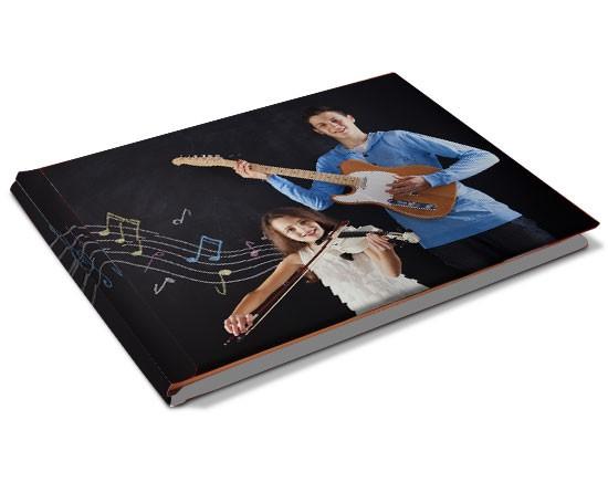 libro pentagramma personalizzato