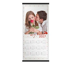 Romantic Love su Calendari Pagina Singola 30x70