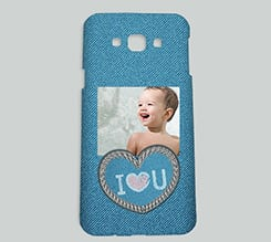 Cover Galaxy A8 3D Love jeans