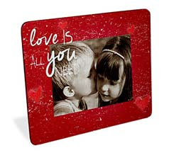 Foto su puzzle cornice rettangolare Love is you