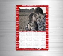 Calendario magnetico A3 Love words
