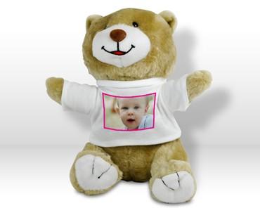 Peluche orso con foto - Peluches con foto ...