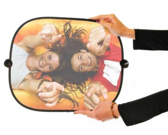 tendina parasole con foto ragazze