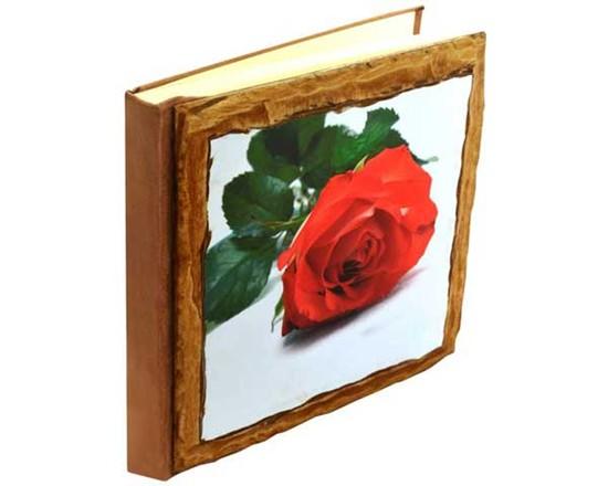 album fotografico personalizzato in legno