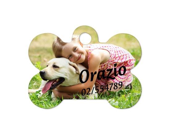 medaglietta per cane personalizzata