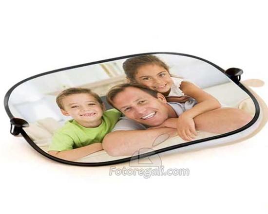 tendine parasole con foto papà e figli