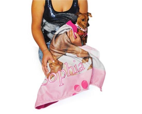 copertina personalizzata per cuccia cane