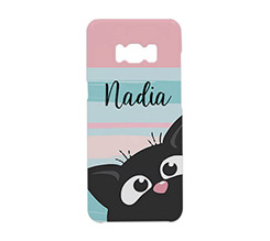 Cover Galaxy S8 Plus 3D Gattino