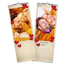 Calendario Multipagina Slim Love