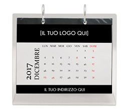 Calendario da tavolo in plexiglass Office