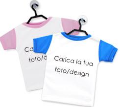 Mini T Shirt Personalizzate Fotoregalicom