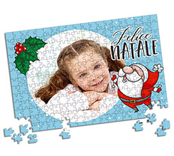 Puzzle A3 Babbo natale