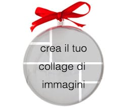 Crea collage Palline di Natale