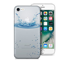 Cover Trasparente iPhone 7 Splash