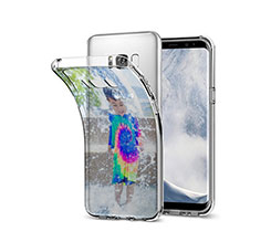 Crea Cover Trasparente Galaxy S8 Plus