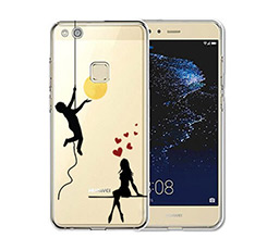 Cover trasparente Huawei P10 Lite Apple for you