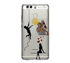 Cover trasparente Huawei P9 Apple for you