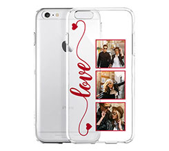 Cover Trasparente iPhone 6 Frame Love