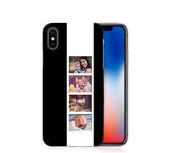 Cover iPhone X 3D Black and White