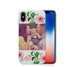 Cover iPhone X 3D Flowers