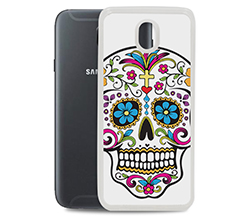 Cover in silicone Galaxy J5 2017 Teschio