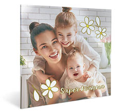 Stampa su plexiglass Super Mom