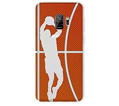 Cover trasparente Galaxy S9 Basket