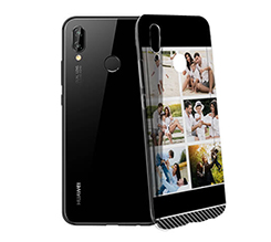 Cover trasparente Huawei P20 Lite Black Collage