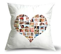 Cuscino con foto collage personalizzato