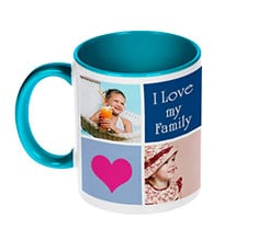 Love Family Tazza Collage