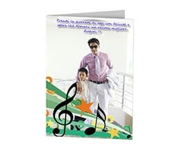 Daddy is Music - Cards