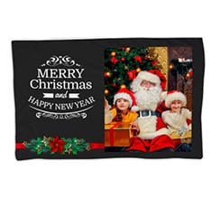 Coperta 150x100 Merry Christmas Vischio