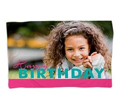 Coperta 150x100 Happy Birthday per Lei