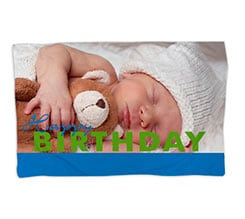 Coperta 150x100 Happy Birthday per Lui