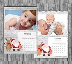 Babbo Wall Calendari Multipagina A3