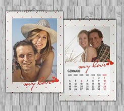 Romantic Love Calendari Multipagina A4