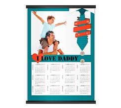 I Love Daddy Calendari A4 Pag. Singola