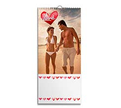 Crazy Love su Calendari 30x70 Multipagina