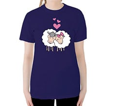 Sheep in Love T-shirt