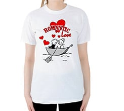 Romantic in the Sea T-shirt