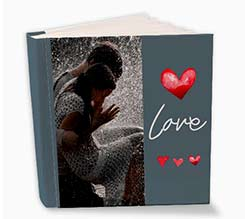 Three Hearts Album Fotografici Con Tasche 26x30