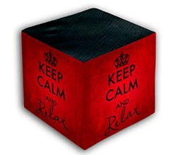Keep Calm Foto Cubo Chic