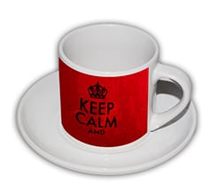 Tazza caffè Americano Keep Calm