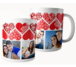 Tazza Panoramica - Fantasy of Hearts