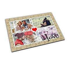 Puzzle Big in legno - Four Love