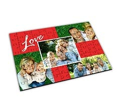 Puzzle Big in legno - Red Love