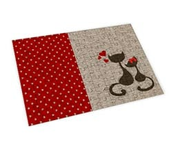 Puzzle Big in legno - Cats in Love