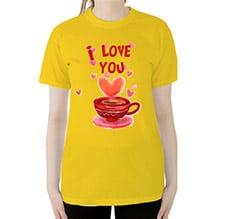 T-shirt Cup of Love