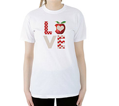 T-shirt Love Apple
