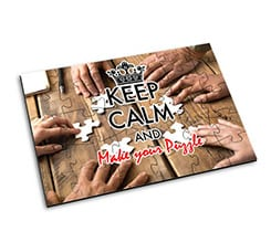 Puzzle in Legno Small Keep Calm